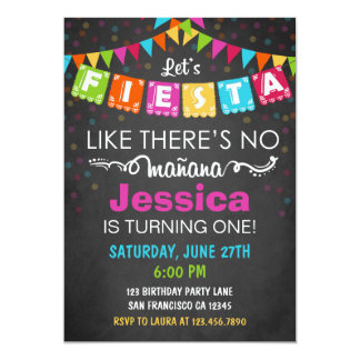 fiesta mexican birthday party invitation - Mexican Party Invitations