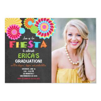 Fiesta Mexican Graduation Party Invitation Fiesta