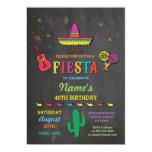 Fiesta Mexican Hat Mexico Birthday Party Invite