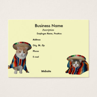 Fiesta/Mexican/Hispanic Theme Business Card