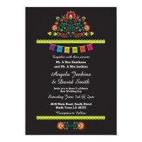 Fiesta Mexican Wedding Party Bright Invitation