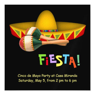 Fiesta Mexicana Magnetic Card