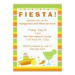 Fiesta mexicano de la fiesta invitación 12,7 x 17,8 cm