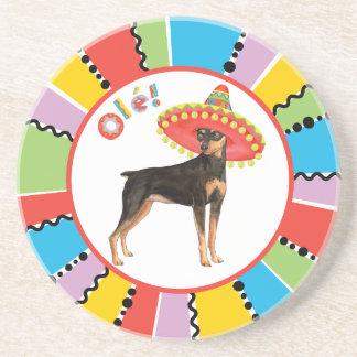 Fiesta Min Pin Coaster