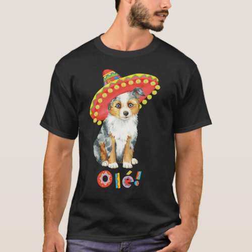 Fiesta Miniature American Shepherd T_Shirt