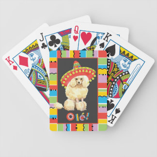 Fiesta Miniature Poodle Bicycle Playing Cards