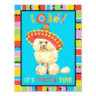 Fiesta Miniature Poodle Card