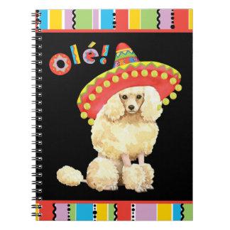 Fiesta Miniature Poodle Notebook