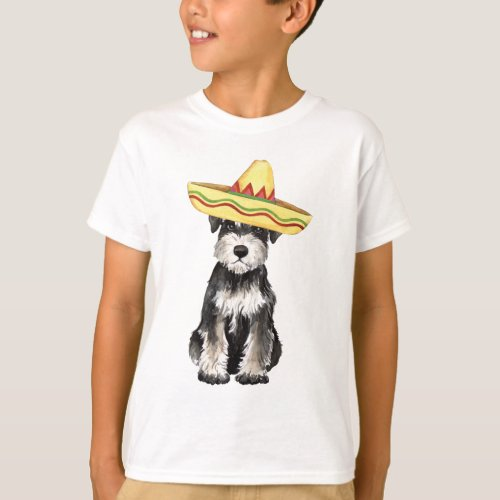 Fiesta Miniature Schnauzer T_Shirt