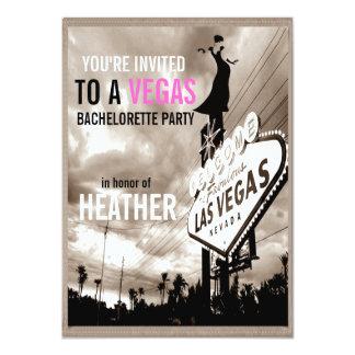 Fiesta moderno de Las Vegas Bachelorette de la Anuncio
