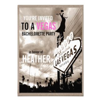 Fiesta moderno de Las Vegas Bachelorette de la sep Anuncio