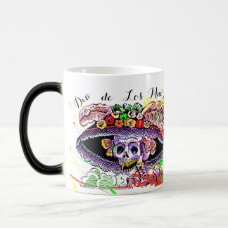 Fiesta Morphing Fun Dia de Los Muertos de la taza