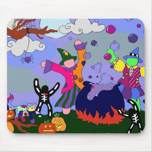 Fiesta Mousepad de las brujas