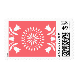Fiesta Olé   Postage Stamp   Vertical