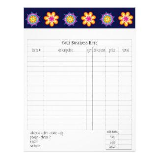 Fiesta Order Form Flyer