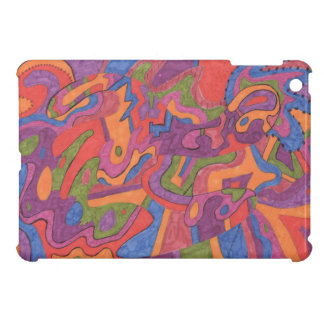 Fiesta, Original Abstract Cover For The iPad Mini