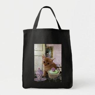 Fiesta para los bolsos de un gatito bolsas