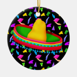 Fiesta - Partido ! Ceramic Ornament