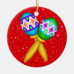 Fiesta - Partido ! Double-Sided Ceramic Round Christmas Ornament