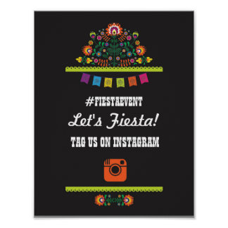 Fiesta Party Instagram Sign Photo Couple's Shower