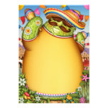 Fiesta Party Inviations Fiesta Stationery Announcement