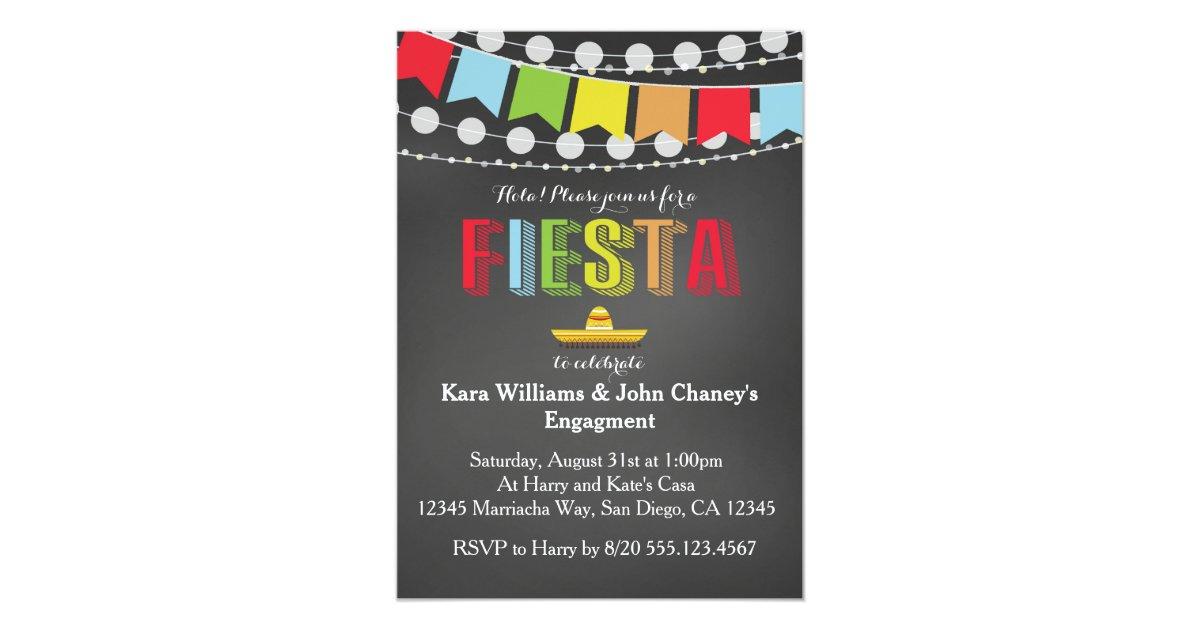 Fiesta Party Invitation | Zazzle.com