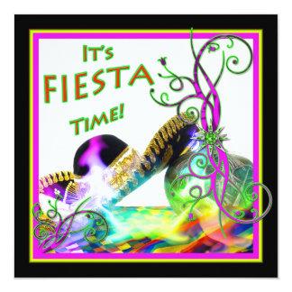 Fiesta Party Invitation - Festive