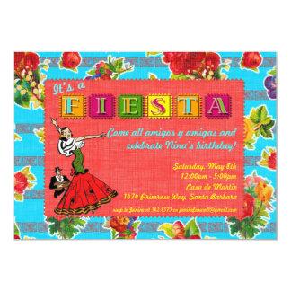 Fiesta Party Invitation - Mexican Dancer
