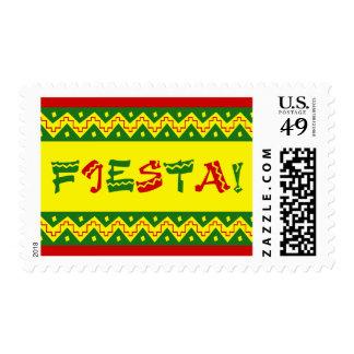 fiesta party invitation postage
