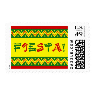 fiesta party invitation postage