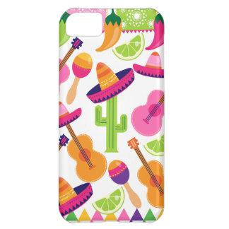 Fiesta Party Sombrero Cactus Limes Peppers Maracas iPhone 5C Case