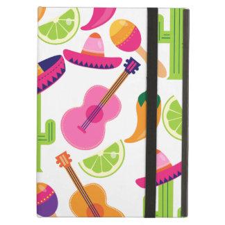 Fiesta Party Sombrero Cactus Limes Peppers Maracas iPad Air Case