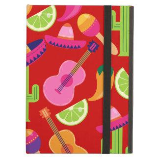 Fiesta Party Sombrero Limes Guitar Maraca Saguaro iPad Air Case