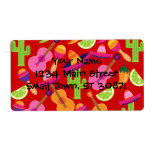 Fiesta Party Sombrero Limes Guitar Maraca Saguaro Label