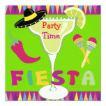 Fiesta Party Time Personalized Announcements