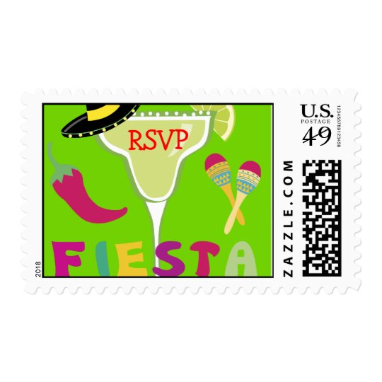 Fiesta Party Time Postage