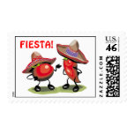 Fiesta! Peppers Postage Stamps