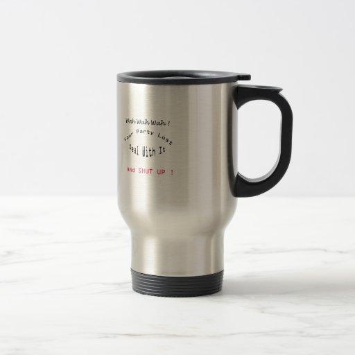 fiesta perdido tazas de café