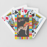 Fiesta Peruvian Inca Orchid Bicycle Playing Cards