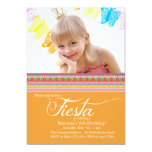 Fiesta Photo Invitation