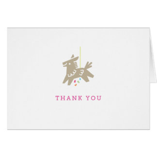 Fiesta Piñata - Thank You Card