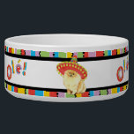 "Fiesta Pomeranian Bowl<br><div class=""desc"">Hola! Time for fun and celebration! Sing and play with your favorite fiesta-loving dog. Celebrate Cinco de Mayo or any other fiesta time with your cute sombrero-wearing Pomeranian!</div>"