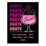 Fiesta - postal de la fiesta