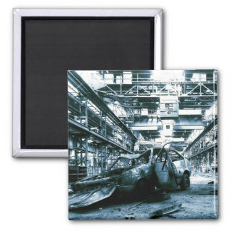 Fiesta Power 2 Inch Square Magnet
