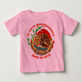 Fiesta-Product-Match-Cinco-de-Mayo-Set-1 Baby T-Shirt