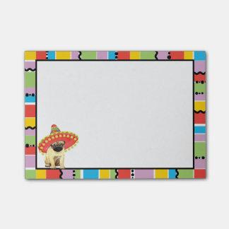 Fiesta Pug Post-it® Notes