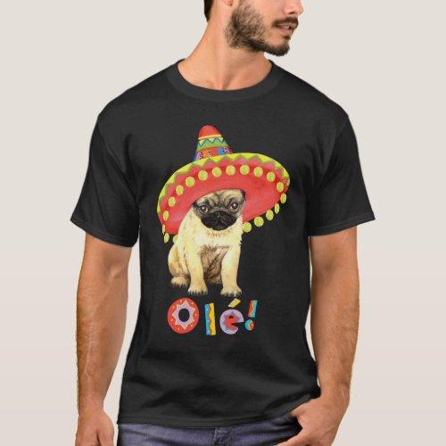 Fiesta Pug T_Shirt