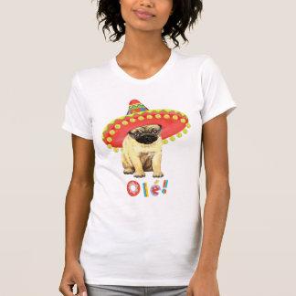 Fiesta Pug Tee Shirt