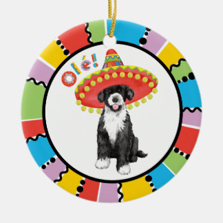 Fiesta PWD Ceramic Ornament