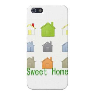 Fiesta que se calienta de la casa de SweetHome iPhone 5 Protectores